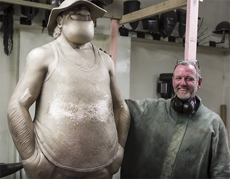 Behind the Scenes at Weta Workshop: Wal & Dog