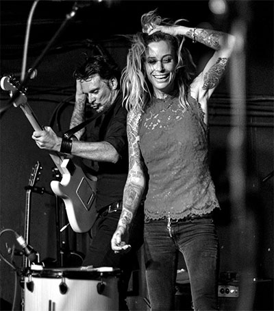 Gin Wigmore Making Music at Home in California