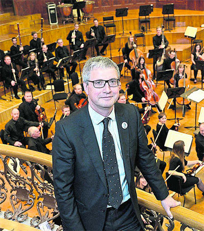 Ulster Orchestra Welcomes New MD Richard Wigley
