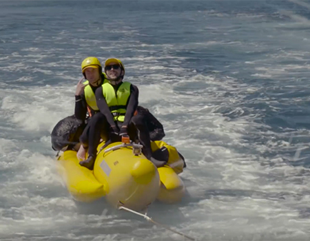 Jono and Ben ride a Banana Boat across the Cook Strait – Part 2