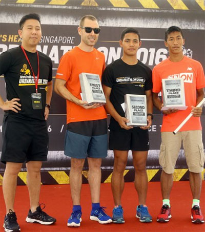Singapore Urbanathlon Title Goes to Jason Lawrence