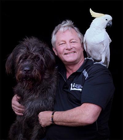 Mark Vette Teaching UK Dogs How to Fly Planes