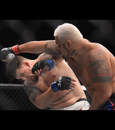 Mark Hunt Wins Over Frank Mir