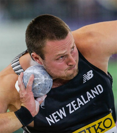 Tom Walsh Throws Gold at IAAF World Indoor Champs