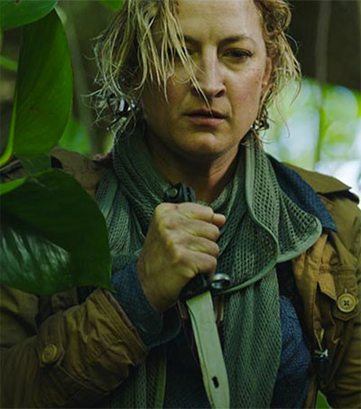 Zoë Bell Stands in for Herself in Camino