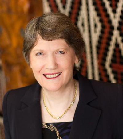 Helen Clark's Leadership Capabilities Outshine Her Zip Code