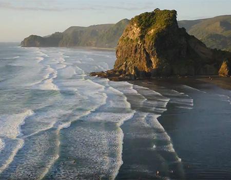 Piha Auckland Timelapse
