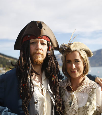 Welcome to World's First Ever Pastafarian Wedding