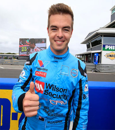 Phillip Island V8 Win for Scott McLaughlin