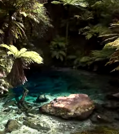 New Zealand Blue Spring