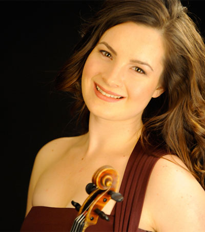 Violinist Amalia Hall Wins Young Artists Comp