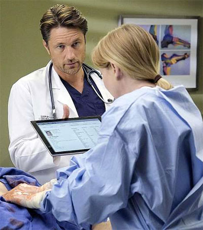 Martin Henderson Talks on Grey's Anatomy Role
