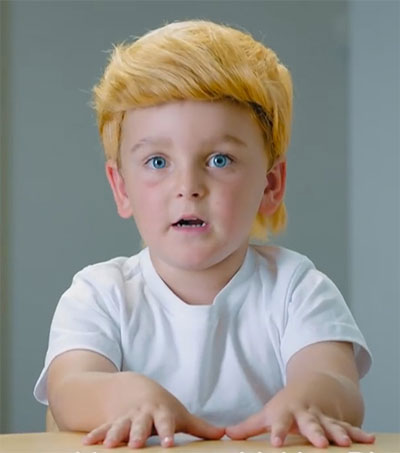 Kids Mimic Donald Trump in Powerhouse Parody