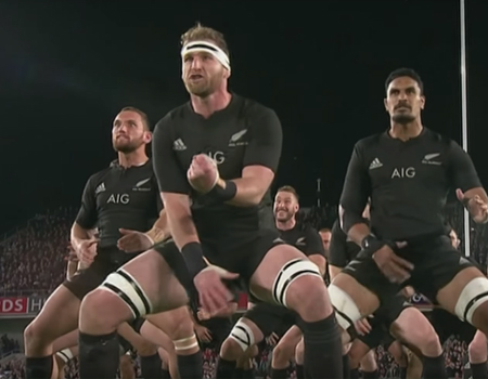 All Blacks vs. Wales Haka