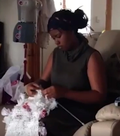Kiwi Teen Creates Ball Gowns Using Rubbish Bags