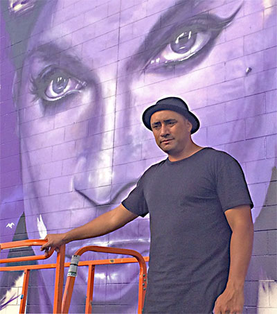 Prince Fan Mr G Completes Minnesota Mural