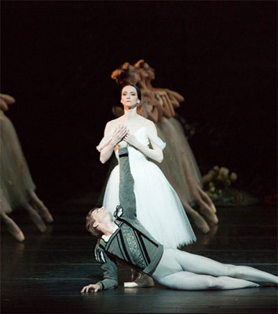 Ballet Dancer Harrison James Impresses in Giselle
