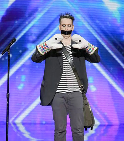 Mime Sam Wills Stuns on America's Got Talent