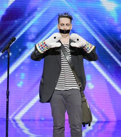 Mime Sam Wills Stuns on America's Got Talent