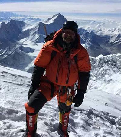 Stuart Erskine Completes Seven Summits Challenge