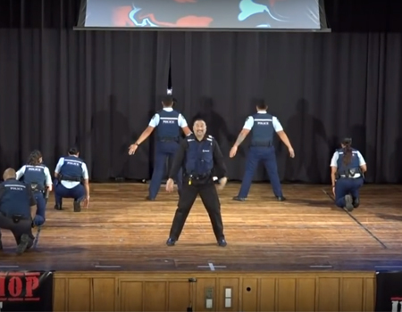NZ Police at Hip Hop Unite