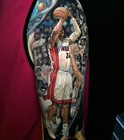NZ Tattoo Artist's Incredible Sport Stars Tattoos