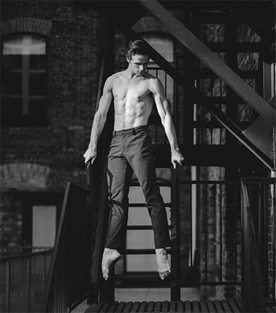 Ballet World's Rising Star Harrison James