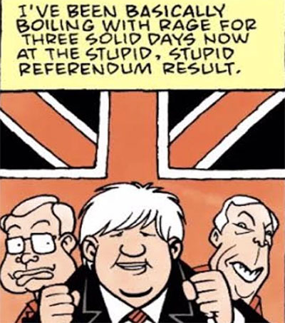 Comic Artist Roger Langridge Responds to Brexit