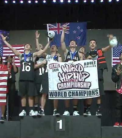 NZ Hip-Hop Dance Crew Wins Gold