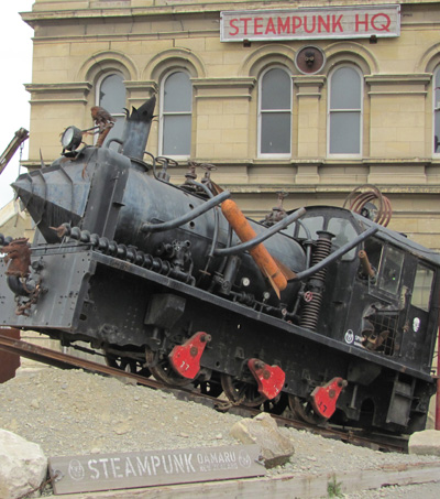 How Oamaru Became Steampunk Capital of the World