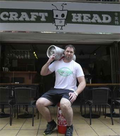 Nicholas Clark Caters to China's Craft Beer Lovers
