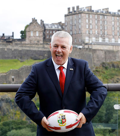 Warren Gatland Looks to Dethrone the ABs