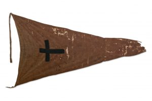 Hau Hau flag taken at Ōmarunui
