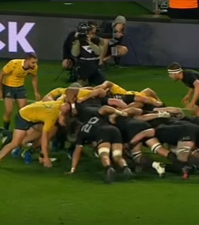 ABs Beat Wallabies Again at Eden Park 37-10