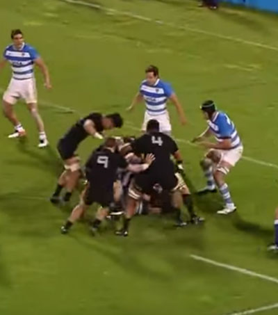 Pumas No Match for Unstoppable All Blacks