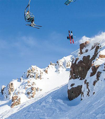 Ohau We Love to Ski Here