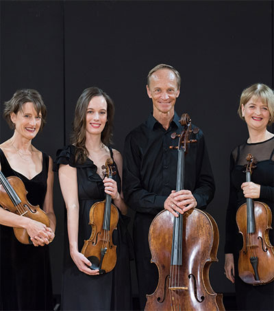 NZ String Quartet Communicate a Culture