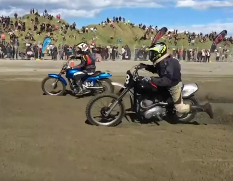 Burt Munro Challenge – Beach Race Final 2016
