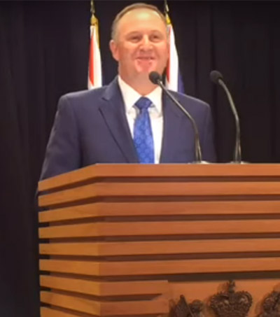 John Key Praised For Lifting New Zealand's Economy