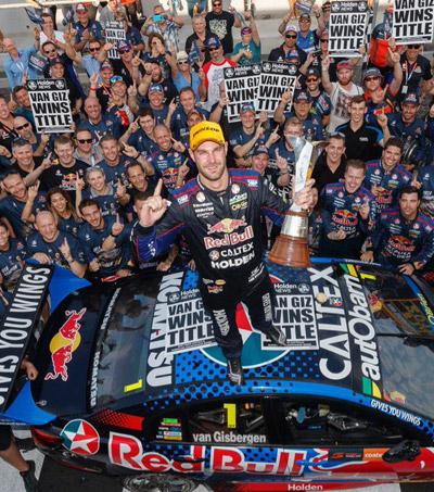 Shane Van Gisbergen Claims V8 Supercars Title