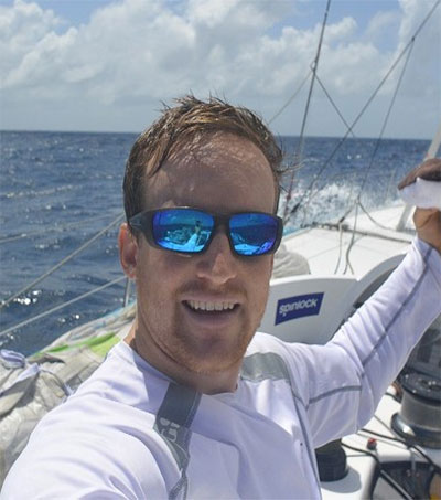 Conrad Colman Solo Around the World in 80 Days