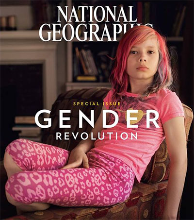 Robin Hammond Trans Image on Cover of Nat Geo