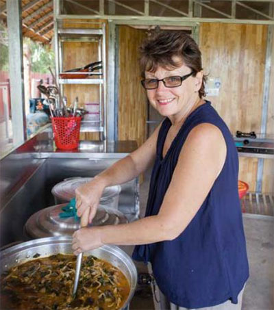 Volunteer Sue Thompson's Cambodian Recipe of Hope
