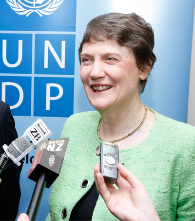 Helen Clark To Step Down As UNDP Chief In April