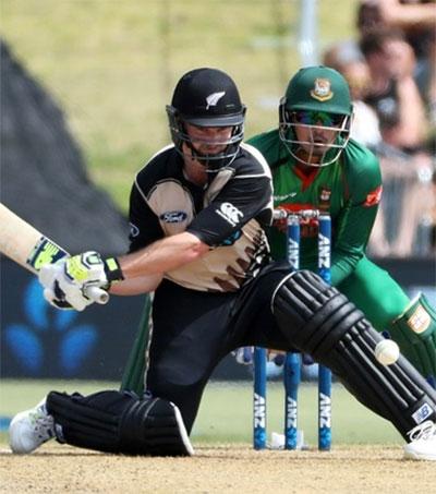 Munro Belts NZ to T20 Series Win vs Bangladesh