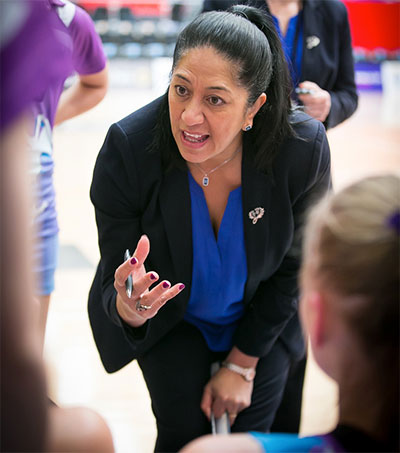 Coach Gail Parata at Forefront of Scotland Netball