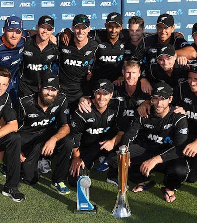 Black Caps Defeat Australia in Hamilton