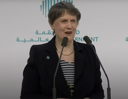 Highlights: Helen Clark World Government Summit 2017