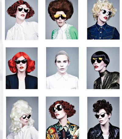 Karen Walker Shapeshifts For New Eyewear Campaign