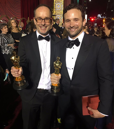 John Gilbert and Dan Lemmon Win at Oscars